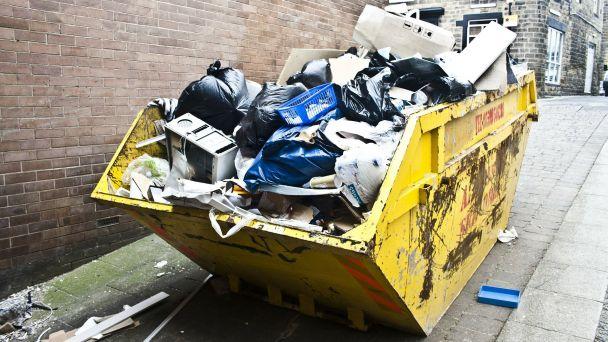 Zber nadrozmerného odpadu