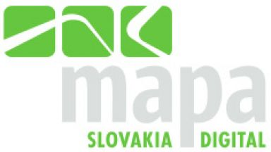 Mapa Slovakia Digital